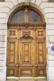 drzwiowy masywny drewniany obrazy royalty free