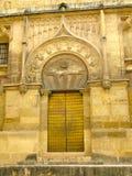 drzwiowy meczet Obrazy Royalty Free