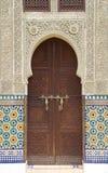 drzwiowy moroccan Zdjęcia Stock