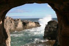 drzwiowy morze Obraz Royalty Free