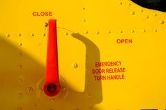 drzwiowy nagły wypadek Fotografia Stock