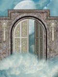 drzwiowy niebo Fotografia Royalty Free