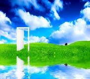 drzwiowy nowy świat Fotografia Stock