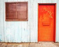 drzwiowy okno Obraz Stock