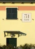 drzwiowy okno Obrazy Stock