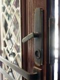 drzwiowy otwarcie Obrazy Royalty Free