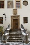drzwiowy portal Zdjęcia Stock