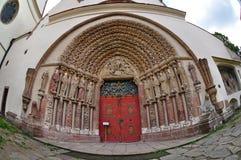 Drzwiowy portal porta Coeli Obrazy Royalty Free