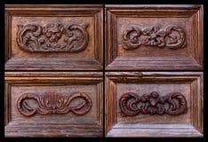 Drzwiowy recoration fotografia royalty free