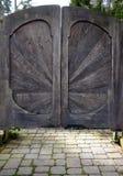 drzwiowy rocznik Zdjęcia Royalty Free