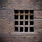 drzwiowy stary drewniany zdjęcie royalty free