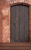 drzwiowy stary drewniany Fotografia Stock