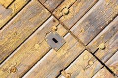 drzwiowy stary drewniany obrazy royalty free