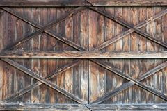 drzwiowy stary drewniany Tło Zdjęcie Stock
