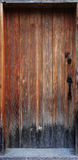 drzwiowy stary drewno Obraz Royalty Free