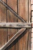 drzwiowy stary drewno Fotografia Stock