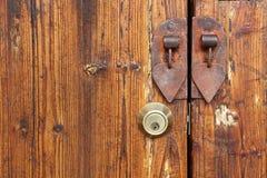 drzwiowy stary drewno zdjęcie royalty free