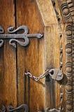 drzwiowy stary drewno Zdjęcia Royalty Free