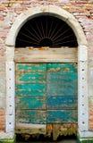 drzwiowy stary przegniły Zdjęcie Royalty Free