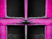 drzwiowy stary różowy drewniany Obraz Royalty Free