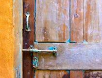 Drzwiowy szczegół Fotografia Royalty Free