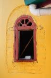 Drzwiowy szczegół przy Batak Rabit meczetem w Teluk Intan, Perak Zdjęcia Stock