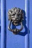 drzwiowy twarzy knocker lew Obrazy Stock