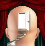 drzwiowy umysł ilustracja wektor