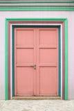 drzwiowy wewnętrzny drewniany Obraz Royalty Free