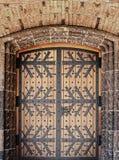 drzwiowy wewnętrzny stary Obrazy Stock