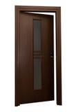 drzwiowy wewnętrzny drewniany Zdjęcie Royalty Free