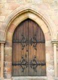 drzwiowy wewnętrzny drewniany Obrazy Stock