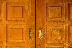 drzwiowy wewnętrzny drewniany Zdjęcia Stock