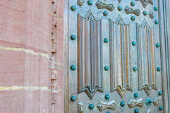 drzwiowy wewnętrzny drewniany Obrazy Royalty Free