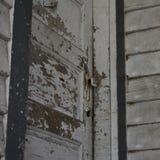 drzwiowy wewn?trzny drewniany zdjęcie royalty free