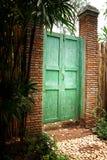 drzwiowy wewn?trzny drewniany obrazy stock