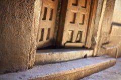 Drzwiowy widok Obraz Stock
