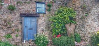 Drzwiowy wiodący nigdzie Fotografia Royalty Free