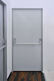 drzwiowy wyjście ewakuacyjne Zdjęcia Stock