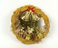 drzwiowy złoty ornament Obrazy Royalty Free