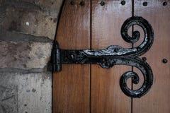 Drzwiowy zawias Fotografia Stock