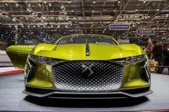 DS Automobiles E Tense Electric Car Stock Photo