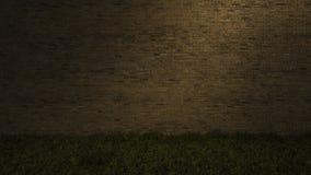 3Ds brick wall Royalty Free Stock Image