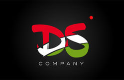 DS D S alphabet letter logo combination icon alphabet design Stock Photos