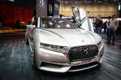 DS DIVINE CONCEPT, Motor Show Geneve 2015. Stock Photography