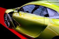 DS E-TENSE概念混合动力车辆 库存图片