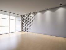 3Ds render interior Stock Image