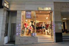 DS shoppar i Hong Kong Arkivbilder