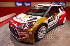 DS3 WRC de Citroen Fotografia de Stock Royalty Free