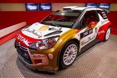 DS3 WRC de Citroen Fotografia de Stock Royalty Free